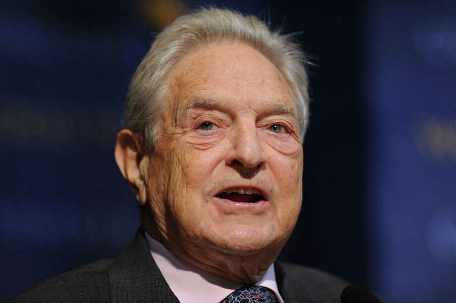 Billionaire investor George Soros is being blamed, by President Trump and others, for paying people to demonstrate and agitate against the confirmation of Brett Kavanaugh to the Supreme Court. Photo: STAN HONDA /AFP /Getty Images / AFP or licensors