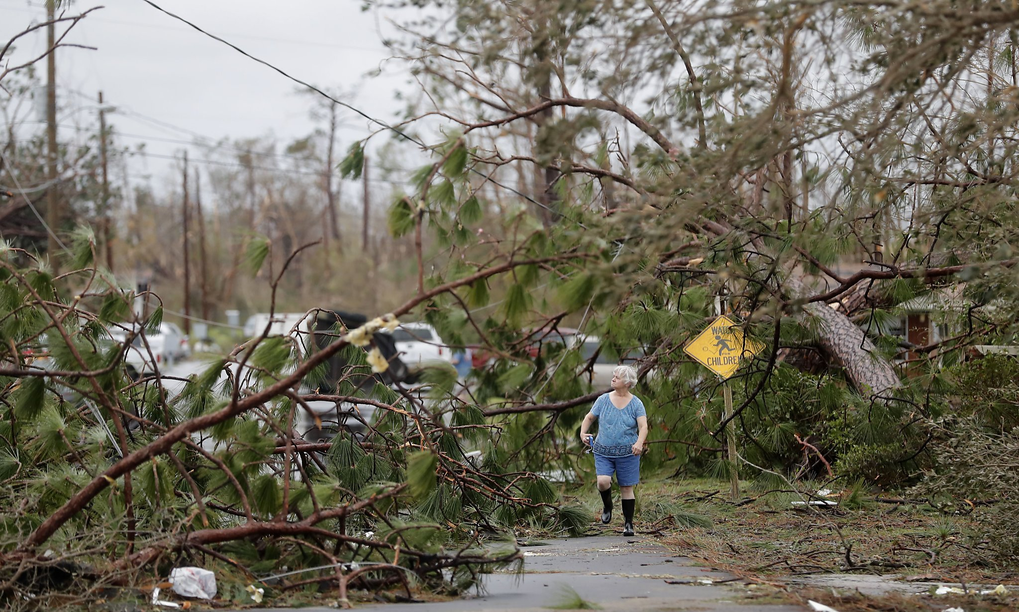 The Latest: Michael still a hurricane hours after landfall - Times Union