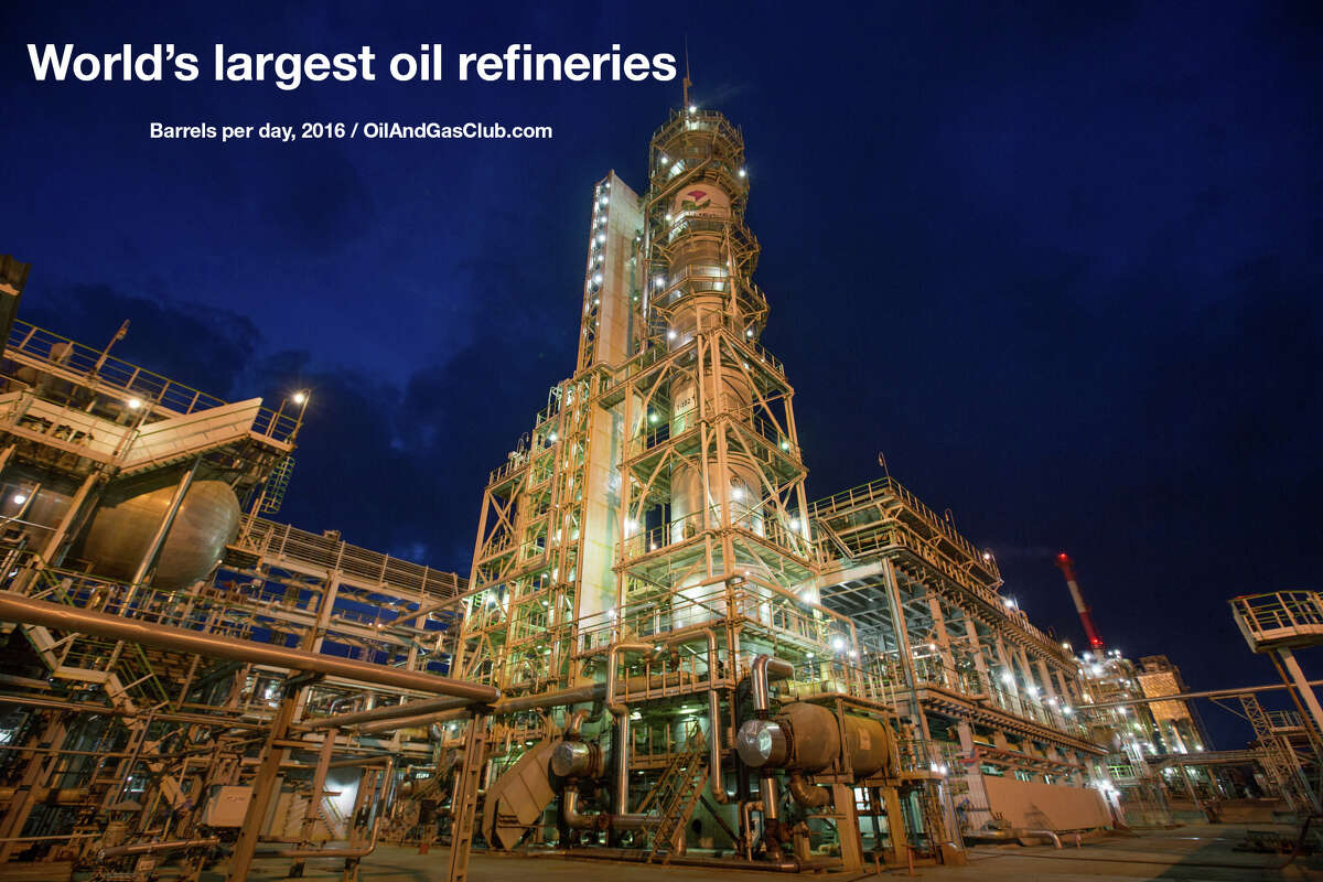 >> Click through the following gallery to see the world's largest oil refineries.