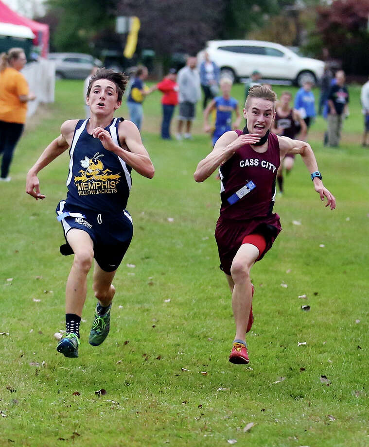 Ubly Cross Country Invitational — Boys Race Photo: Paul P. Adams/Huron Daily Tribune