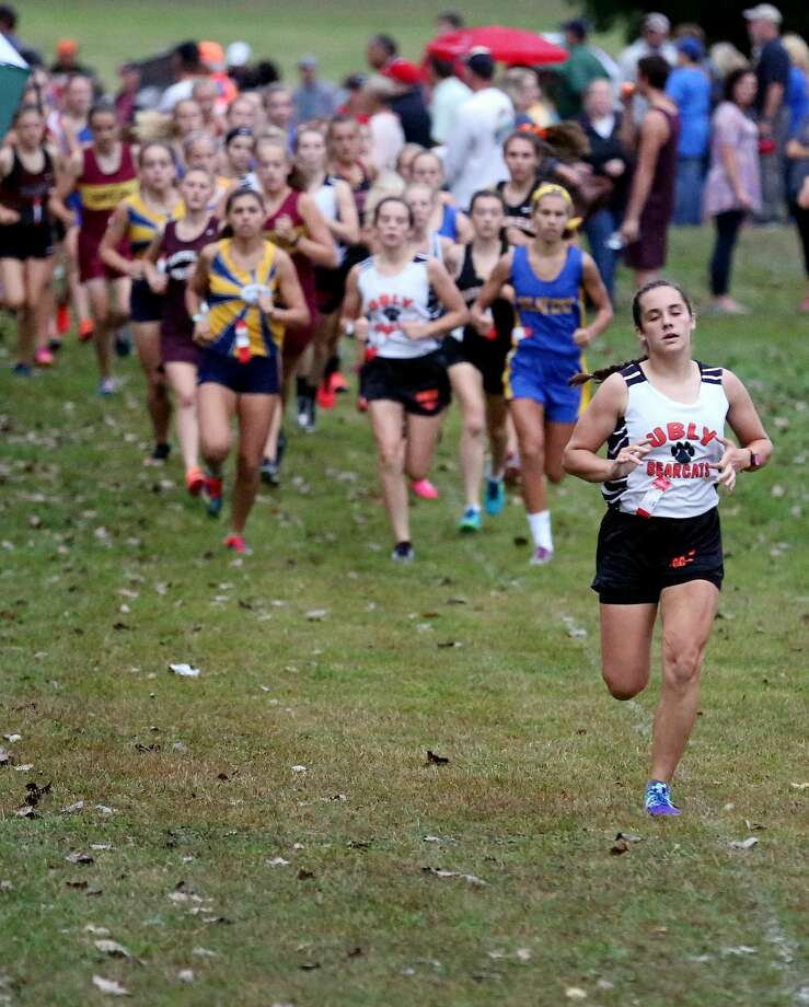 Ubly Cross Country Invitational — Girls Race Photo: Paul P. Adams/Huron Daily Tribune