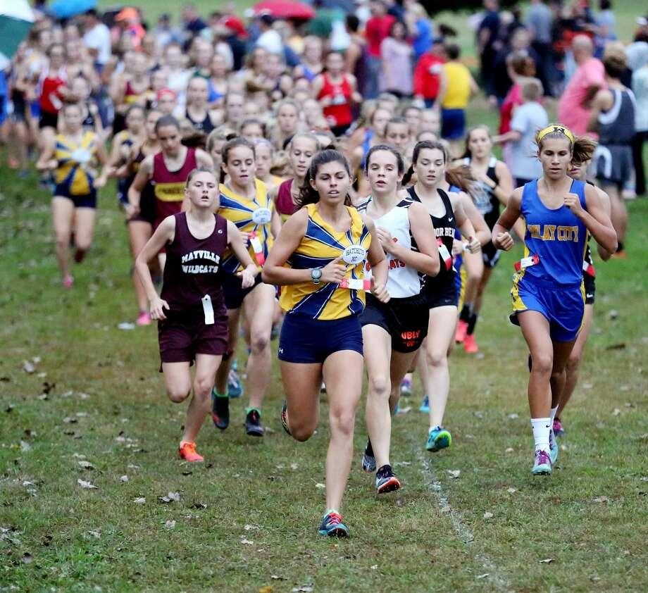 Ubly Cross Country Invitational — Girls Race Photo: Paul P. Adams/Huron Daily Tribune