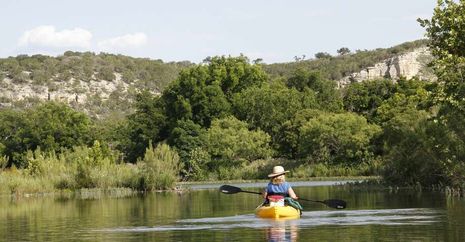 Autumn typically is the premier season to visit state parks located on rivers , especially spring-fed Hill Country streams such as the South Llano. Recent flooding rains in the region have delayed but certainly not washed away October and November paddling/fishing potential. Photo: Shannon Tompkins/Houston Chronicle