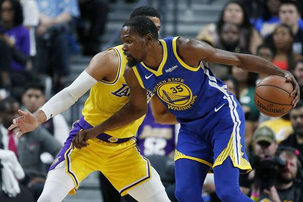 newest a5718 f3622 In first game against LeBron James' Lakers, Warriors look ...