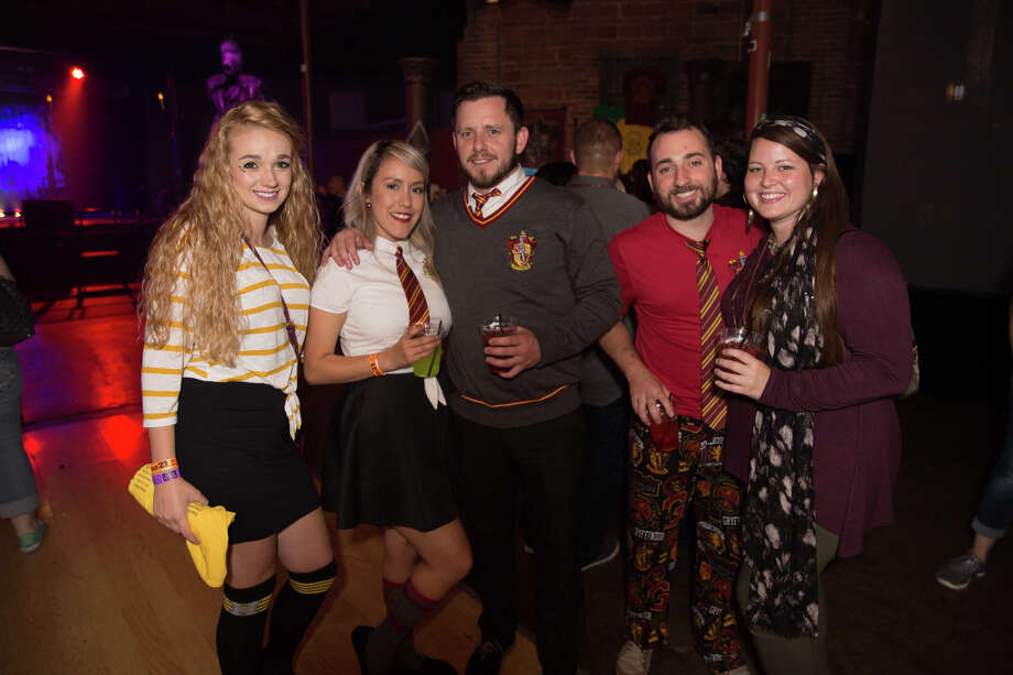 The Rock Box's dance floor was transformed into Hogwarts Wednesday night, Oct. 10, 2018, for Wizard Fest - A Harry Potter Party. Photo: B. Kay Richter