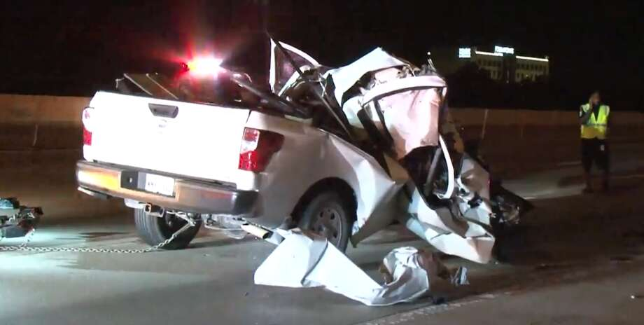 A Man Is In Serious Condition After Crashing Into An 18 Wheeler On The Katy