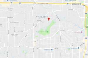 Two men died in a crash in the 11300 block of Pineland Drive on Wednesday, Oct. 11, 2018.