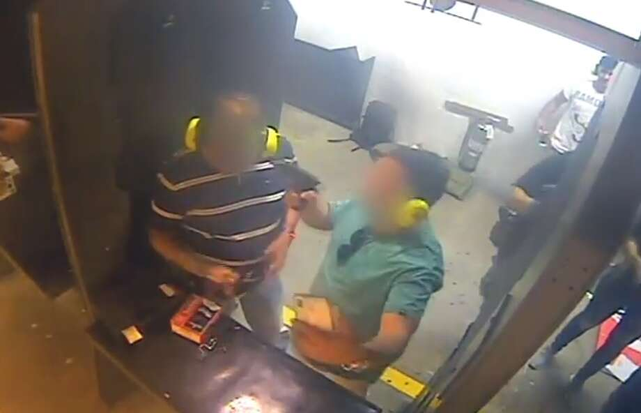 PHOTOS: Gun control laws in TexasTwo men were kicked out of a Houston gun range after one pointed a gun at the other's face. >>> See the main gun regulation laws in the state Photo: Top Gun Range