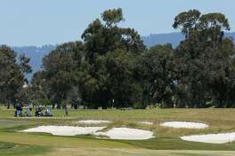 Golfers at the new Corica Park South Course, Wednesday, June 20, 2018, in Alameda, Calif.