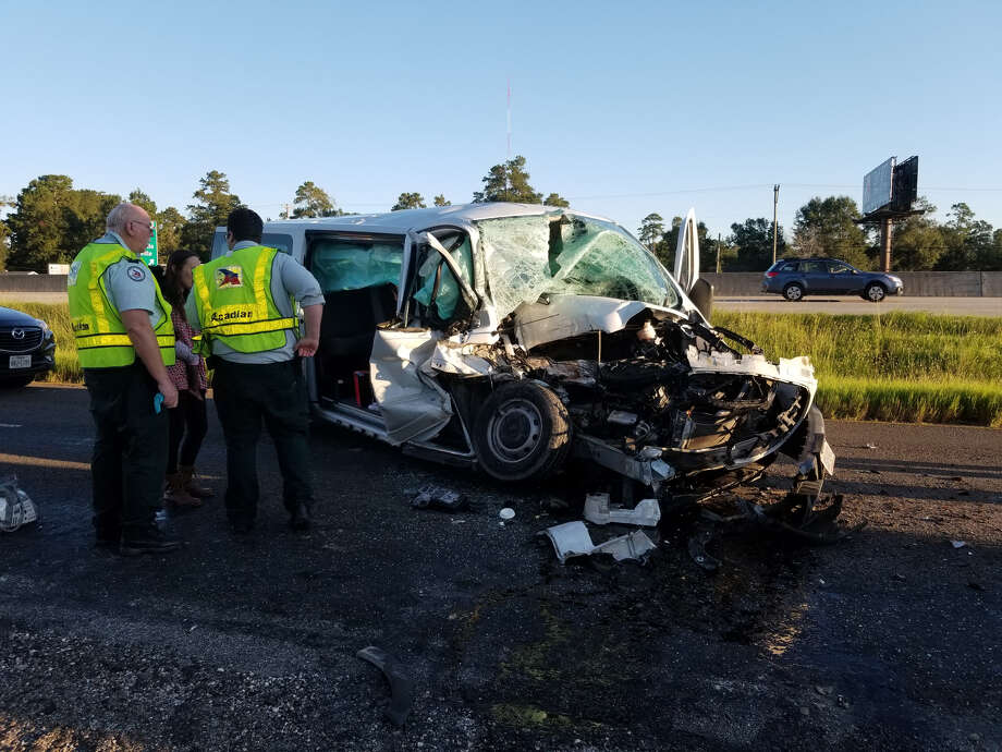 A major vehicle wreck on October 11, 2018 in Vidor
