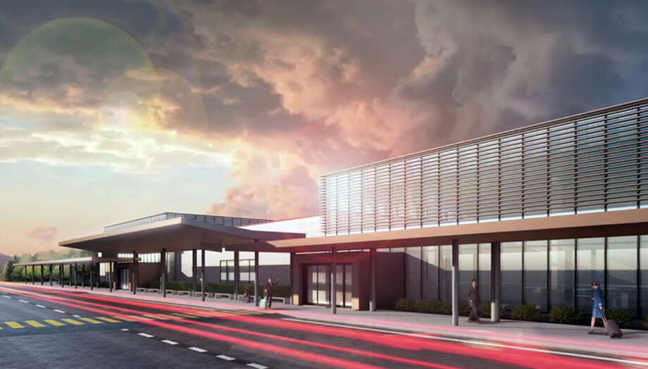 Rendering of the new passenger terminal at Washington State's Paine Field. Photo: Paine Field