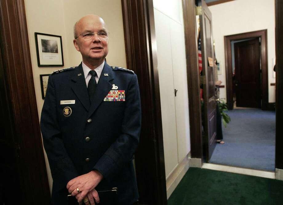 File photo of Gen. Michael Hayden (AP Photo/Gerald Herbert, Files) Photo: GERALD HERBERT / AP / AP