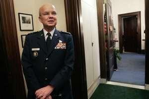 File photo of Gen. Michael Hayden (AP Photo/Gerald Herbert, Files)