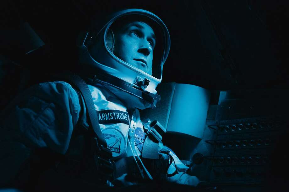 "Ryan Gosling as Neil Armstrong in ""First Man."" Photo: Daniel McFadden, Photographer / Daniel McFadden/Universal Pictures / (c) 2018 Universal Studios and Storyteller Distribution Co. LLC"