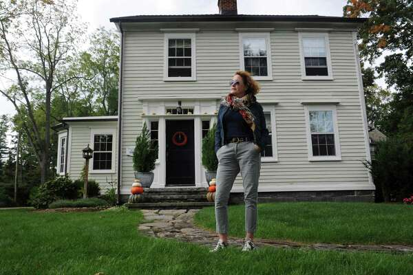 Sculptor Jocelyn Armstrong's early nineteenth century home at 17 Canal Street Wednesday, October 10, 2018, in Norwalk, Conn. The home is being honored at this year?'s Westport Historic District Commission 2018 Preservation Awards. The commission gives awards to people who have worked hard to preserve their homes but have kept it as close as possible to its original build.