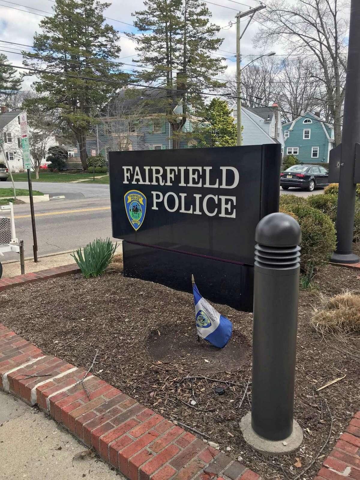 Fairfield, Conn., police headquarters.