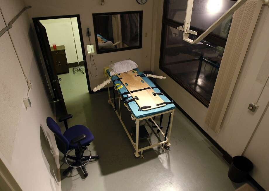 The execution chamber at the Washington State Penitentiary in Walla Walla will no longer be used after Washington became the latest state to do away with capital punishment. Photo: Ted S. Warren / Associated Press 2008