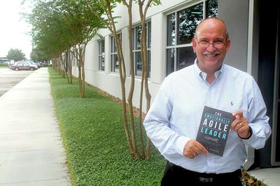 """Humble resident Kevin Bowser hopes his new book """"The Emotionally Agile Leader"""" will help readers develop their emotional intelligence to become better leaders."""