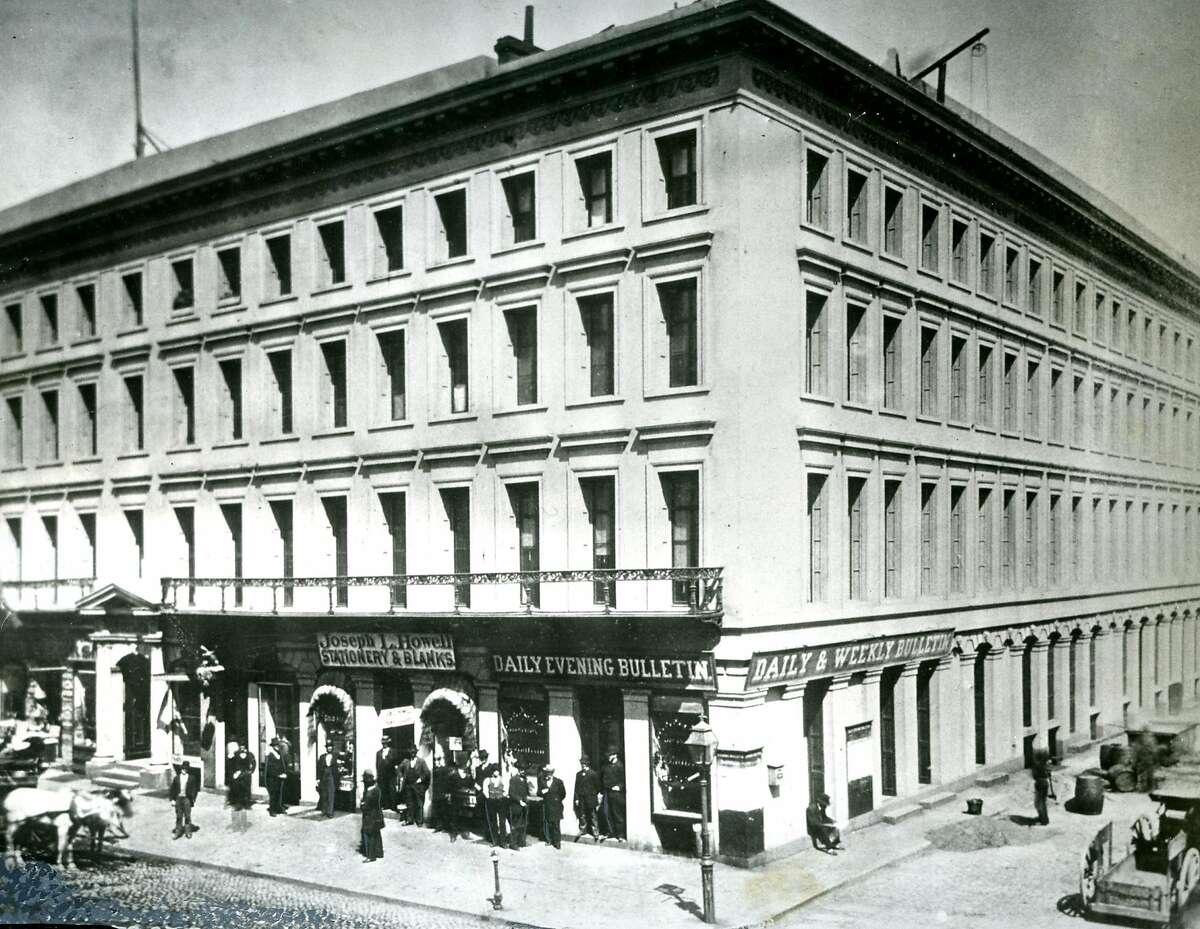 Montgomery Block in San Francisco.
