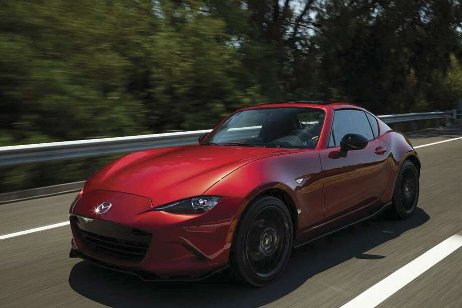 The 2019 Mazda MX-5 Miata receives a newly refined powertrain. Mazda's engineers enriched the SkyActiv-G 2.0-liter engine with the goals of improved response, performance, feel and efficiency. The net results are 181 horsepower at 7,000 rpm — a 17-percent improvement — and 151 lb.-ft. of torque at 4,000 rpm, with a richer torque curve throughout MX-5's entire rev range. (Motor Matters photo)