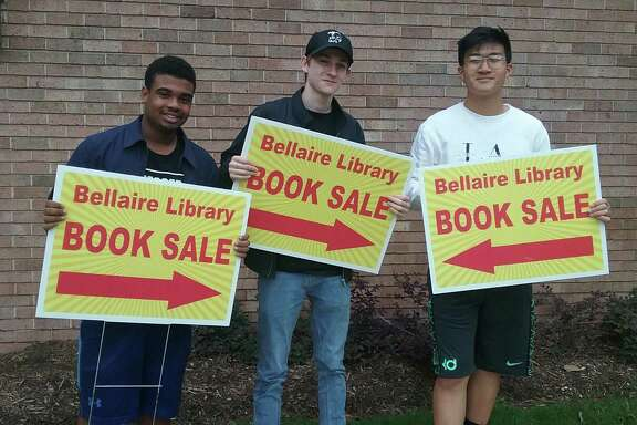 Students of the Youth Council on Service will be among the many volunteer groups lending a hand with FOTBL board members to make the Bellaire Library Book Sale a success this Saturday, October 13th from 9am to 2pm.