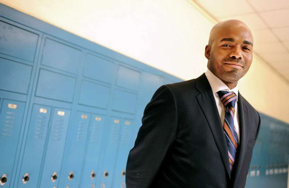 Danbury Schools Assistant Superintendent Kevin Walston joined the district this summer and has worked at schools in Bridgeport, Waterbury and New Jersey. Photo: Autumn Driscoll / ST / Connecticut Post