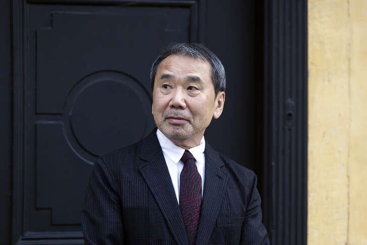 ODENSE, DENMARK - OCTOBER 30: Japanese author Haruki Murakami outside the house of Danish author Hans Christian Anderson prior to Murakami's receival of the prestigious Hans Christian Anderson Literature Award at the City Hall in Odense on October 30, 2016, in Demark. (Photo by Ole Jensen/Corbis via Getty images)