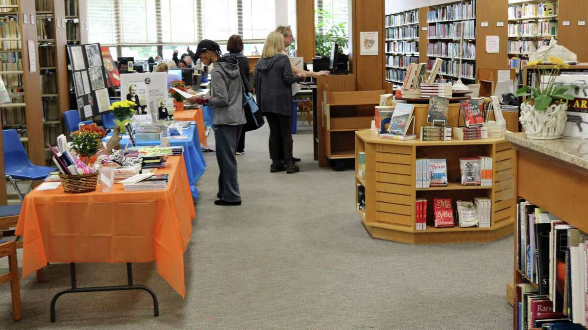 Indie Author Day 2017 at Norwalk Public Library. The 2018 celebration will be held at the library on Oct. 13, 2018.