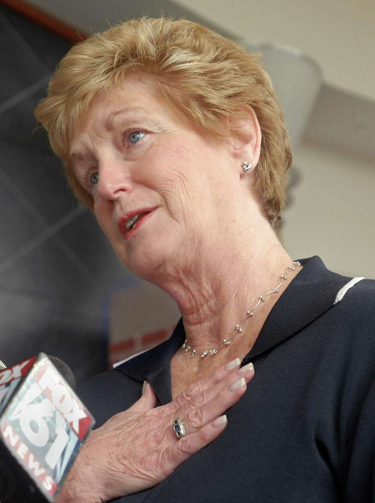 Former Gov. M. Jodi Rell, who oversaw the implementation of the state's clean elections laws, sits on the board of the Republican State Leadership Committee, which has poured an unprecedented amount of money - $800,000 - into Connecticut legislative races.