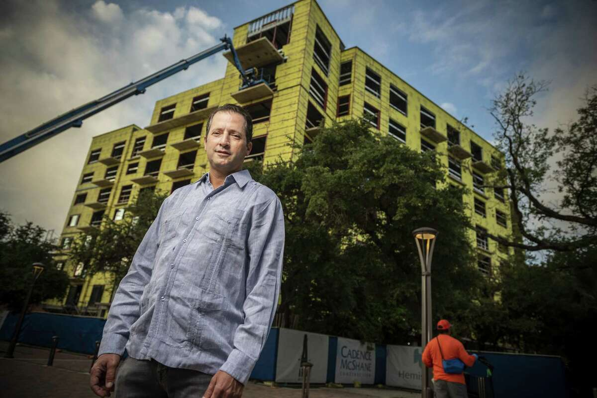 David Adelman is in the vanguard of developers who have wagered millions of dollars that they can transform downtown San Antonio from a tourist district into a real urban neighborhood with a healthy mixture of apartments, offices and retail.