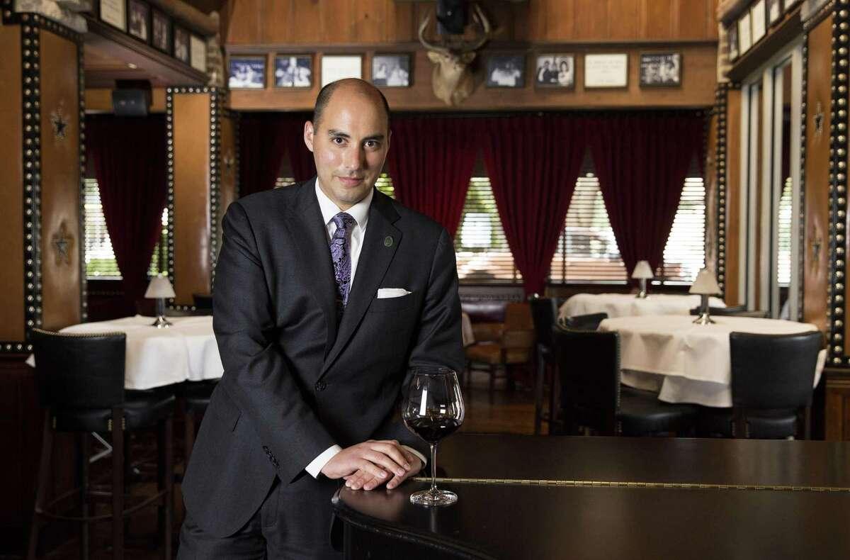 Pappas Bros. Steakhouse wine director Steven McDonald