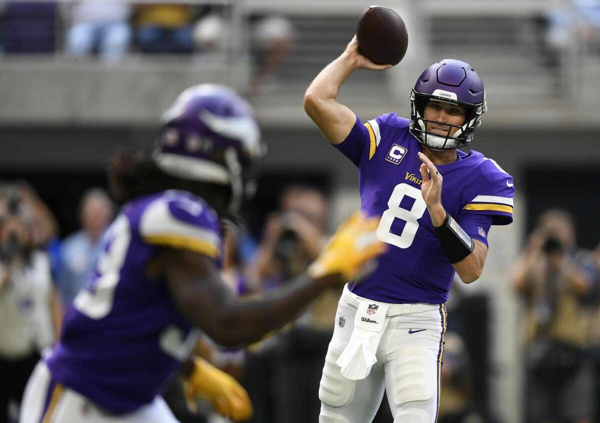 Arizona plus-10½ at Minnesota Vikings 30-13