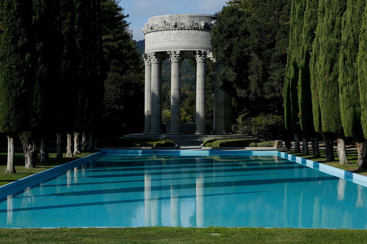 The Pulgas Water Temple on Thursday, Oct. 11, 2018, in San Mateo County, Calif.
