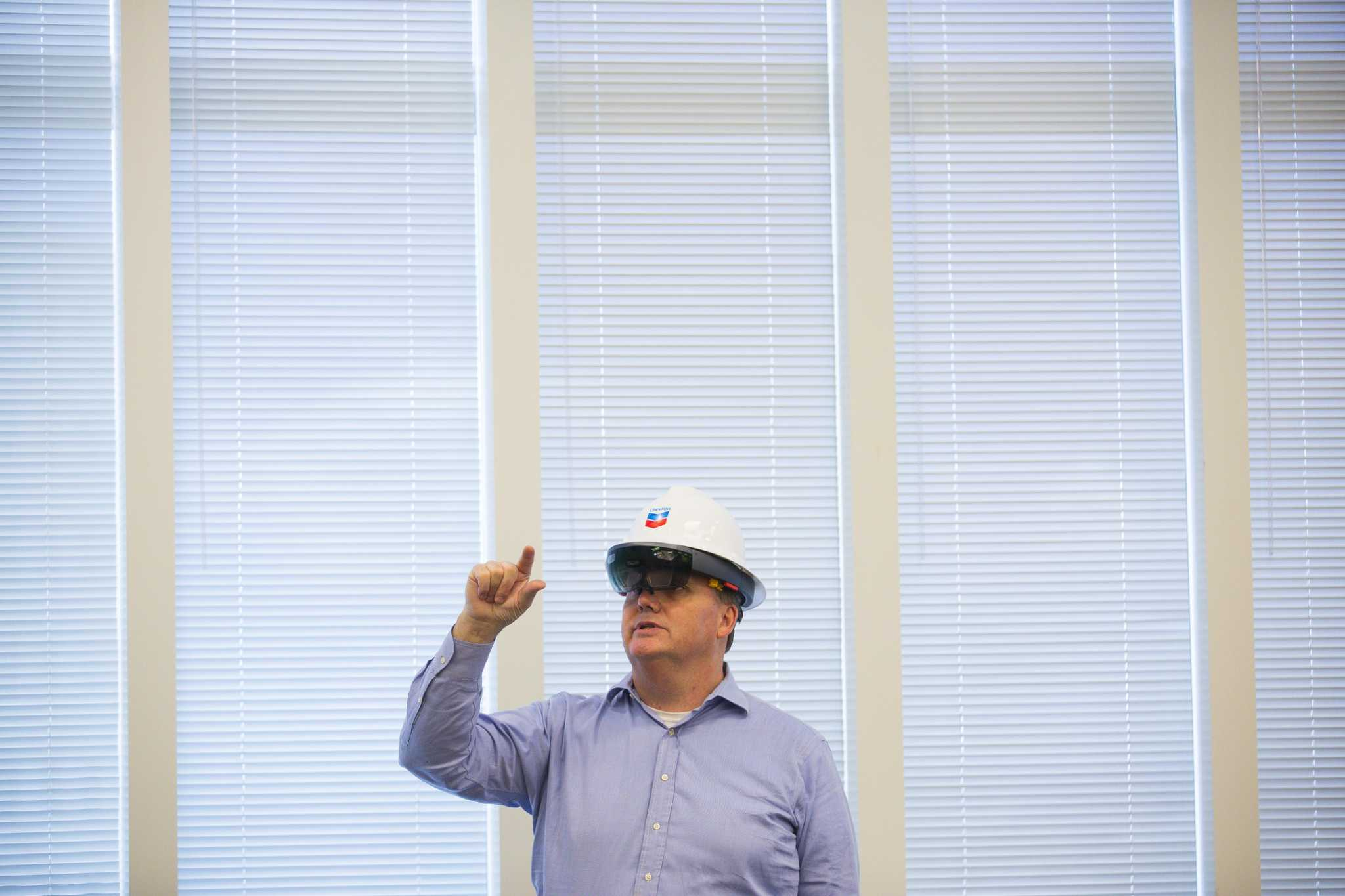 Not being there: How augmented reality is changing the oil industry