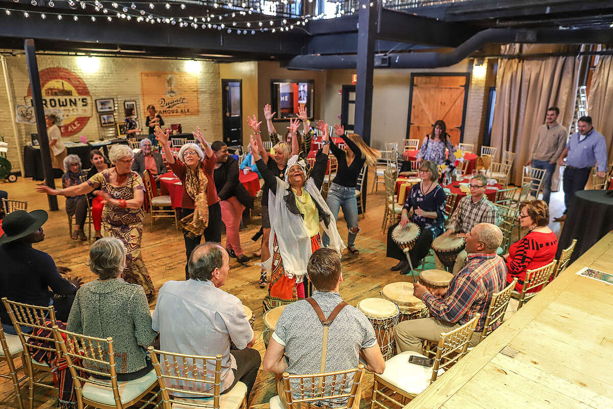 The nonprofit Jajja's Kids raised more than $27,000 in September at its seventh annual benefit, which was an opportunity for supporters to experience Ugandan culture. (Photo courtesy of Chad Anderson)