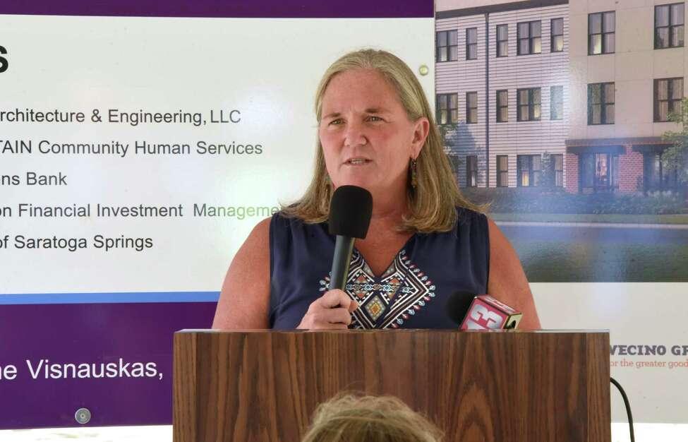 Saratoga Springs Mayor Meg Kelly (Lori Van Buren/Times Union)