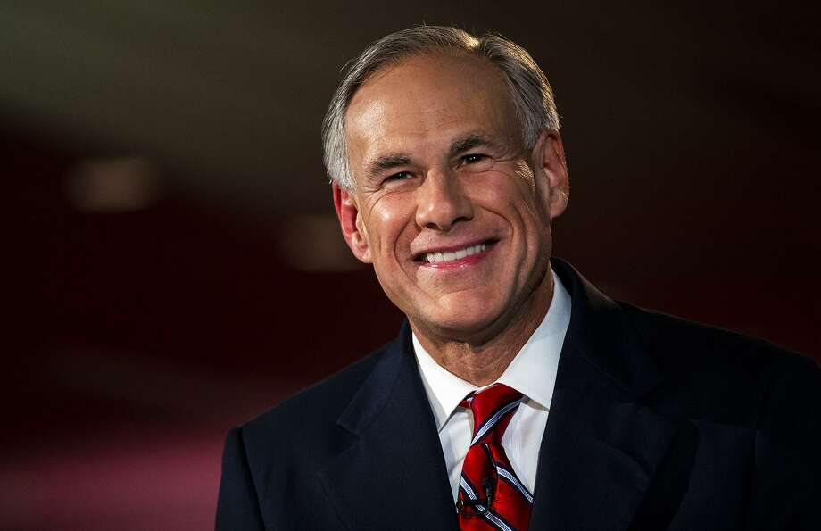 Texas Governor Greg Abbott smiles before a gubernatorial debate against his Democratic challenger Lupe Valdez at the LBJ Library in Austin, Texas, on Friday, Sept. 28, 2018. [NICK WAGNER/AMERICAN-STATESMAN] Photo: Nick Wagner / AMERICAN-STATESMAN / AMERICAN-STATESMAN