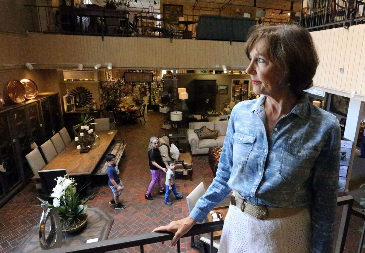 Melissa O'Rourke, president of Charlotte's Furniture at 5411 N. Mesa, announces the family-owned store will close after 66 years.