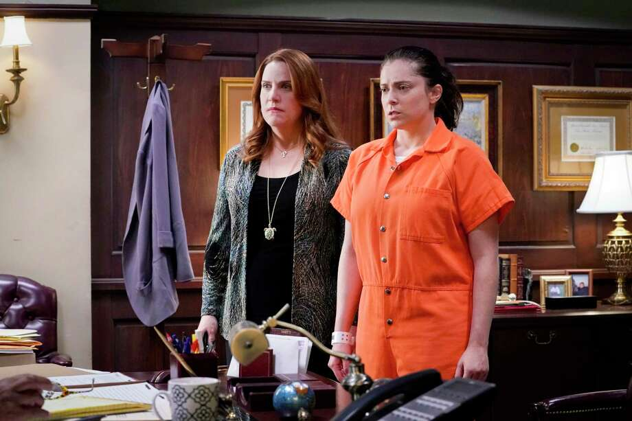 "Paula (Donna Lynne Champlin) and Rebecca (Rachel Bloom) in ""Crazy Ex-Girlfriend."" The show's fourth and final season premieres Oct. 12. Photo: Robert Voets, The CW / © 2018 The CW Netwok, LLC."