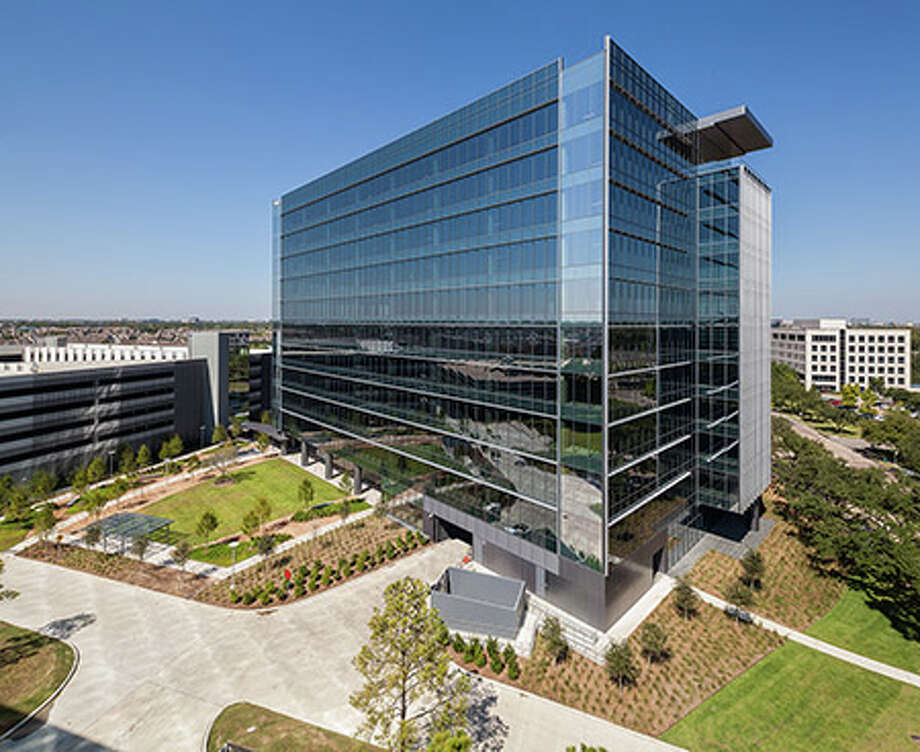 The Enclave Place office building opened in the Energy Corridor in 2015. Photo: Photographer:, Colvill Office Properties