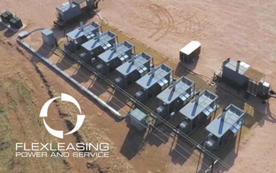 The FlexGrid provides clean, reliable power at remote sites by using  gas-driven generators. Flex Turbines reliably run on high-and-low BTU  gas as well as gas laden with H2S and other impurities. Call  720-573-7664 to learn more. Photo: Courtesy