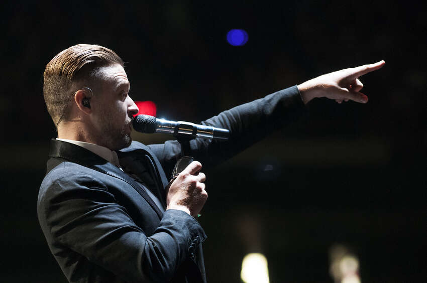 Justin Timberlake performs at the Times Union Center on Wednesday, July 16, 2014 in Albany, N.Y. (Tom Brenner/ Special to the Times Union)