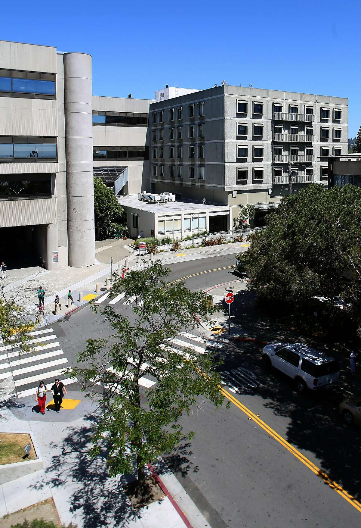 A view of Sutter Health Alta Bates Summit medical center on Sunday, June 26, 2016 in Berkeley, Calif. The hospital may be closing in 2030.