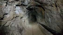 The unfinished tunnel stretched from Jacume, Mexico, to Jacumba, Calif., in eastern San Diego County. (U.S. Border Patrol/TNS)