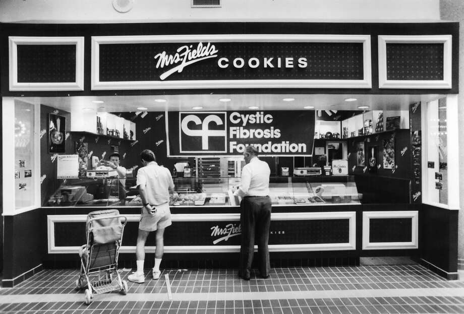 Mrs. Fields Cookies: All cookies are good, but these are especially goodNo trip to a mall in the 1980s was complete without a hot-out-of-the-oven Mrs. Fields cookie. The white chocolate macadamia nut melted in your mouth (file photo). Photo: Buster Dean, Houston Chronicle