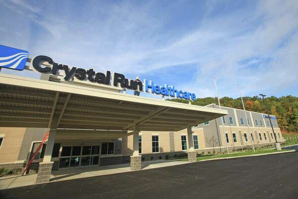 The new Crystal Run Healthcare building in Monroe on Oct. 13, 2016, before its opening. (Elaine A. Ruxton/Times Herald-Record)