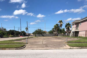 Walton Taylor, 49, was found stabbed to death Friday morning in this parking lot on 40th Street and Sealy Avenue in Galveston.