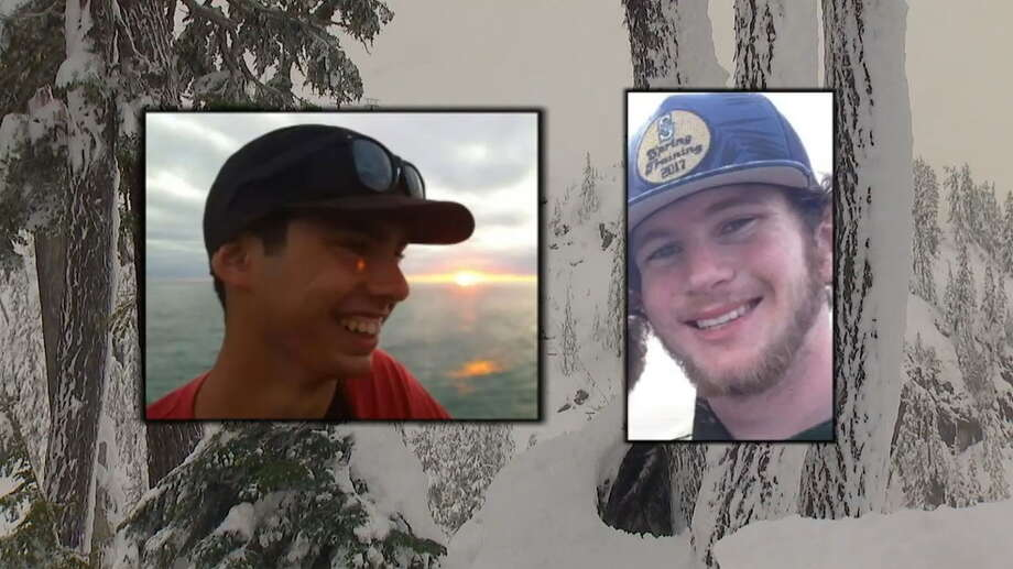 The remains of Jake Amancio, 22, were found Sept. 29 by hikers. The remains of Drew Lenz, 20, were found Wednesday. The two missing snowboarders had last been seen Nov. 12, 2017. Photo: Whatcom County Sheriff's Office