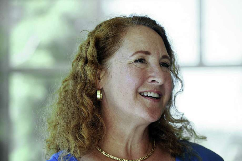U.S. Rep. Elizabeth Esty visits with seniors at the Brookfield Senior Center in July. Photo: Carol Kaliff / Hearst Connecticut Media / The News-Times