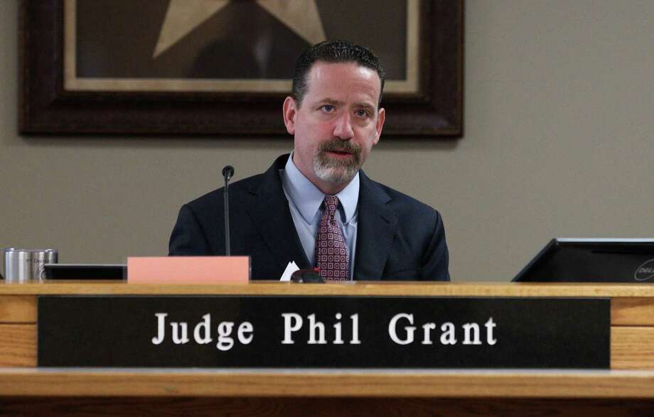 After Montgomery County commissioners aired concern Tuesday about a $300,000 shortfall in court operations, 9th state District Court Judge Phil Grant defended the judges saying they do all they can to save of costs despite an increase in felony filings. Photo: Jason Fochtman, Kingwood Garrett Nee Trial / Houston Chronicle / Houston Chronicle